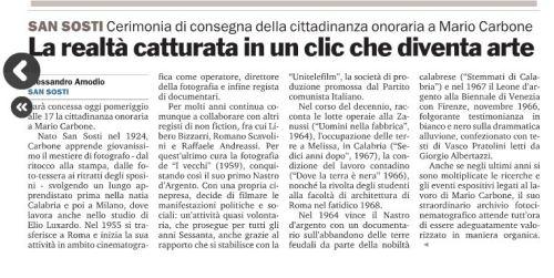 Art San Sosti Gazzetta 22-12-2012
