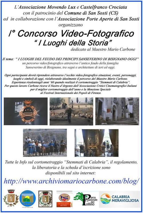 Manifesto Concorso Fotografico Mario Carbone